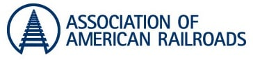 Association of Americna Railroads logo. They work to reduce the number of railroad tank leaks.