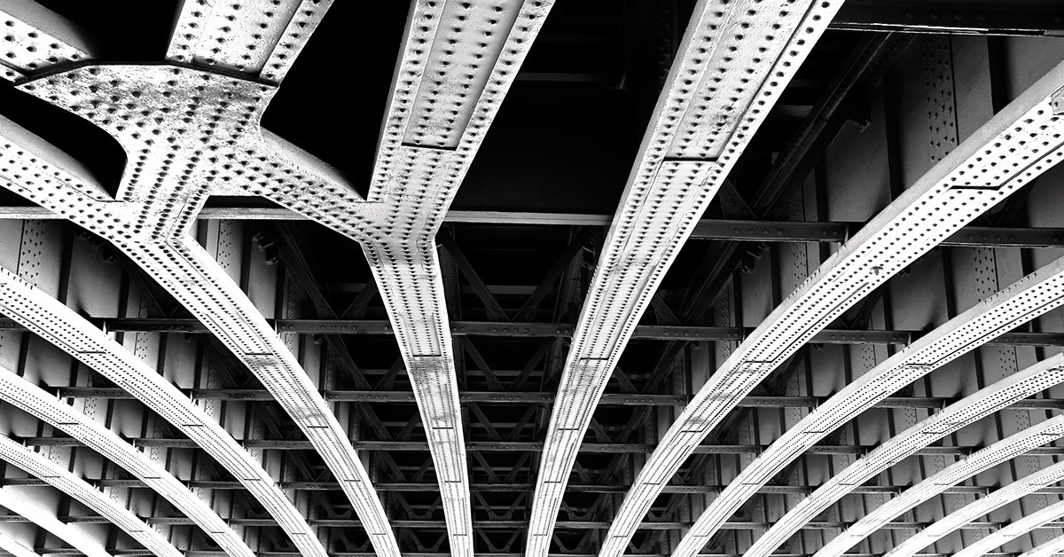 Bridge with bolts torque or tension