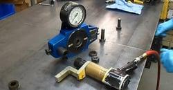 Calibore and Rad calibrating torque wrench