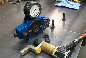 Calibore and Rad Hydraulic Wrench