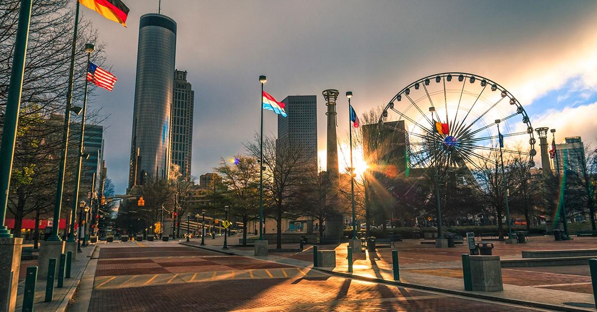 Centennial Olympic Park Atlanta Georgia-2