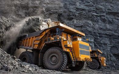 Coal Transport Truck