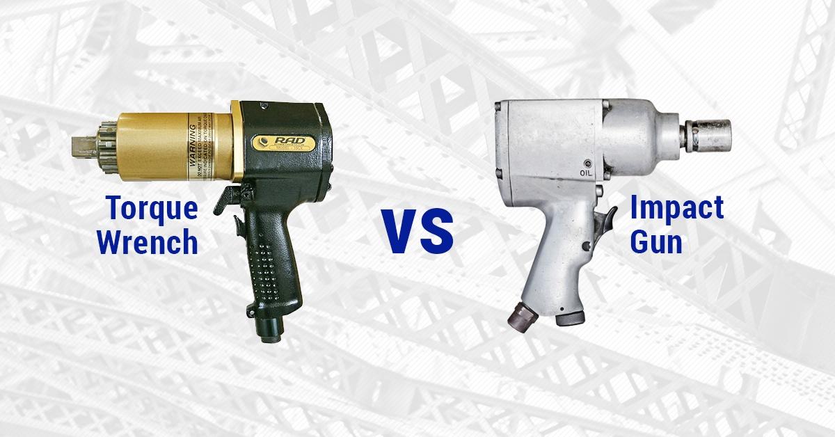 Pneumatic Torque Wrench vs Impact Gun