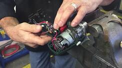 Torque Wrench being repaired