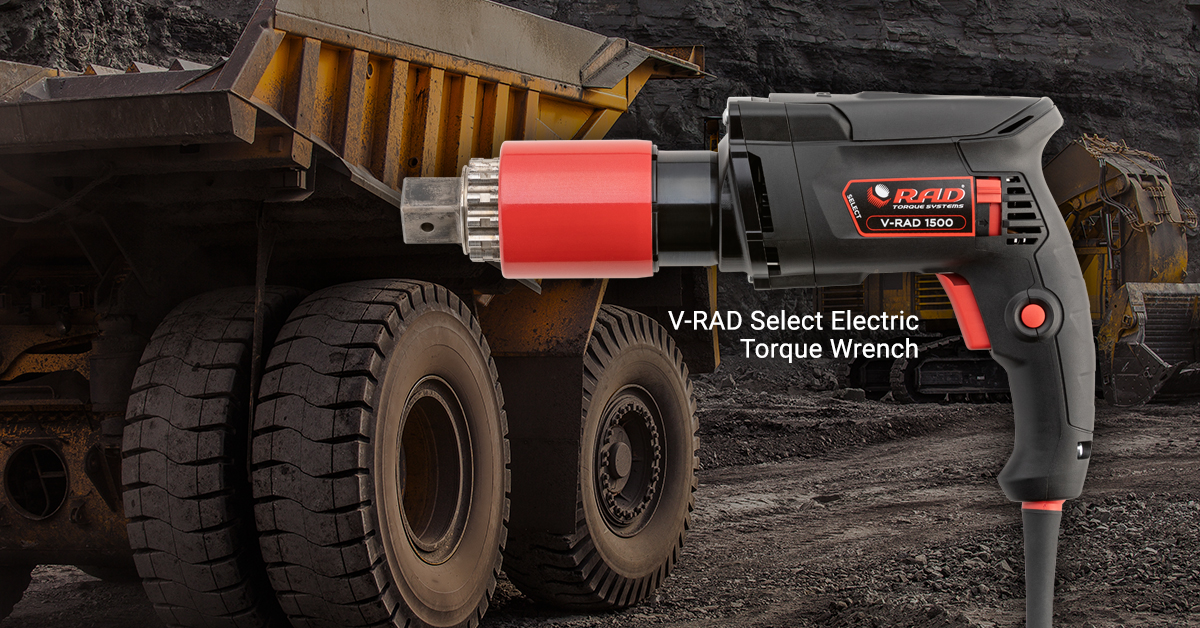 V-Rad-Electric torque Wrench