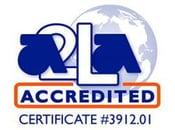 A2LA acredited Logo