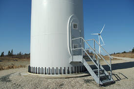 wind Turbine and bolts 2